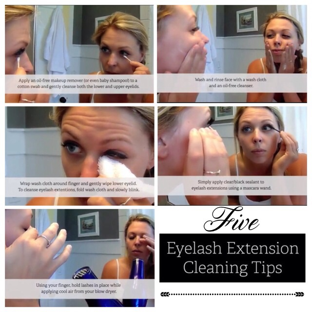 5 Cleaning Tips For Eyelash Extensions Seasons Salon Day Spa